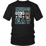 Underdogs Going To Eat Tee Shirt - 9 Bird Gang Fly Eagles Fly Straight outta Philly T-Shirt - Luxurious Inspirations