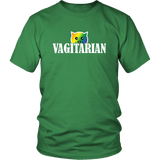 Vagitarian Pussy Cat T-Shirt - Funny Adult Humor Vegetarian LGBTQ Gay Pride Tee Shirt - Luxurious Inspirations