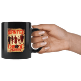 Wanted DND Chaotic Neutral Black Mug - Funny D&D Poster Game Coffee Cup Drinkware teelaunch