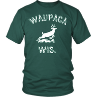 WAUPACA WIS Waupaca Wisconsin Parody T-Shirt - Funny Hunting Fan Costume - Luxurious Inspirations