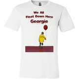We All Float Down Here Georgie Shirt - Funny Scary Horror Tee - Luxurious Inspirations