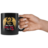 What Doesn't Kill You Gives You XP Funny Gaming DND DM RPG Tabletop Mug - D20 Critical Hit Coffee Cup - Luxurious Inspirations