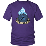 Wizard Dice D20 DND T-Shirt - Luxurious Inspirations