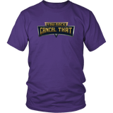 You Rock Cancel That Shirt - Funny Gaming Pro Tee T-shirt teelaunch District Unisex Shirt Purple S
