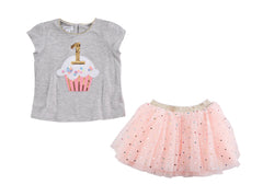 Birthday Confetti Tutu Set