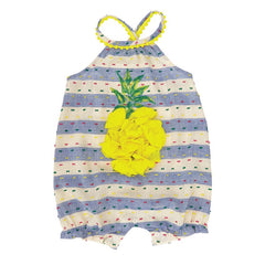 Pineapple Bubble MudPie Baby Outfit