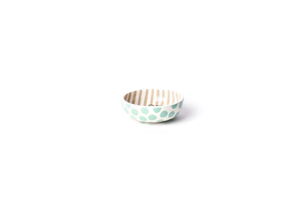 Coton Colors Happy Everything!™ Mint Dot Be Happy Dipping Bowl