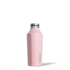 Corkcicle 9 oz Gloss Rose Quartz Insulated Canteen