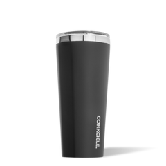 Corkcicle 24 oz Matte Black Insulated Tumbler