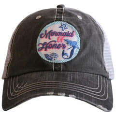 Mermaid of Honor Patch Trucker Hat