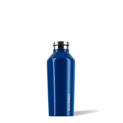 Corkcicle 9 oz Riveria Blue Insulated Canteen