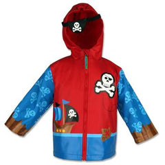 Pirate Raincoat For Kids