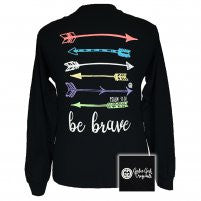 Girlie Girl Long Sleeve Be Brave