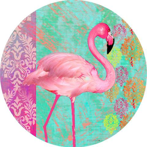 Flamingo Welcome Accent Magnet
