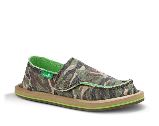 Sanuk Youth Lil Donny Funk Camo