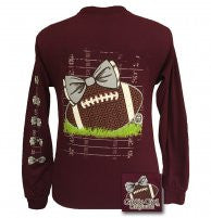 Girlie Girl Long Sleeve Football