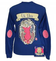 Girlie Girl Oh Deer Long Sleeve