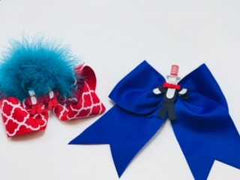 Dr. Seuss Hairbow Clips