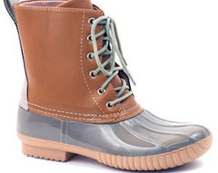 Grey Duck Boots