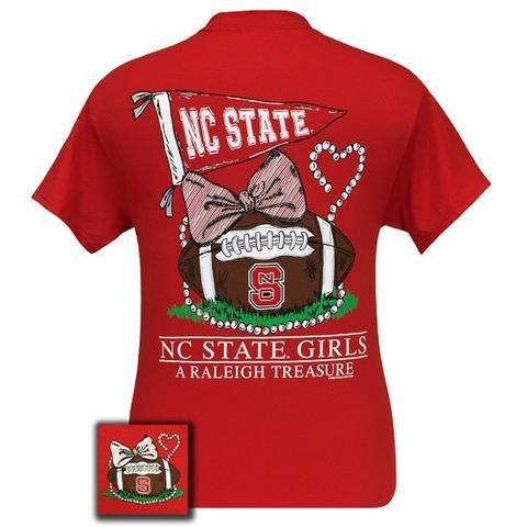 Girlie Girl Short Sleeve NC State Girls