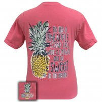 Girlie Girl Originals: Short Sleeve Pineapple Comfort Colors T-Shirt