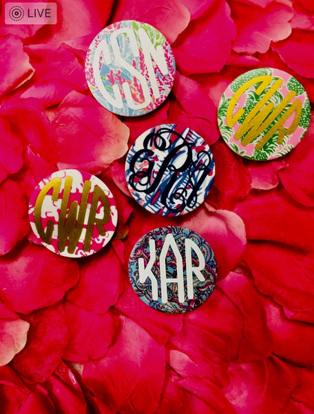 Lilly Pulitzer printed popsockets
