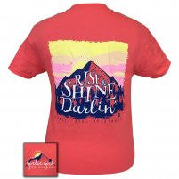 Girlie Girl Originals: Short Sleeve Rise and Shine T-Shirt