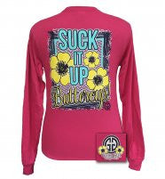 Girlie Girl Long Sleeve Suck It Up