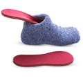 Blue Bed Socks with Heated Insoles