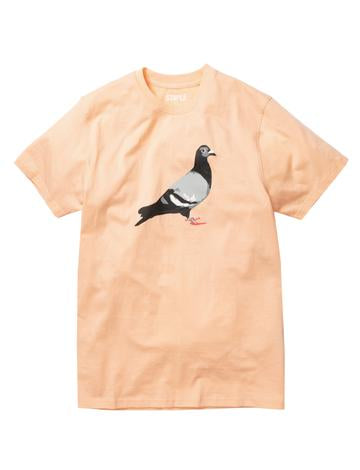 STAPLE PIGEON GLOBAL PIGEON TEE - PEACH
