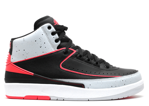 "AIR JORDAN 2 RETRO ""INFRARED CEMENT"""