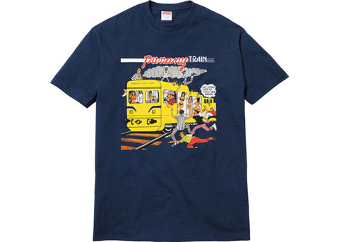 SUPREME PUNANY TRAIN TEE NAVY