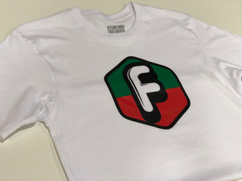 FLYLAC NEW CLASSIC TEE - WHITE