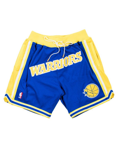 JUST ★ DON BASKETBALL SHORTS FRIENDS & FAMILY 'WARRIORS'