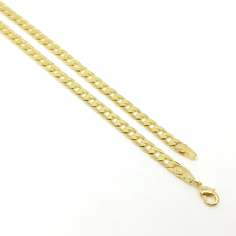 18K GL Fat Cuban Chain