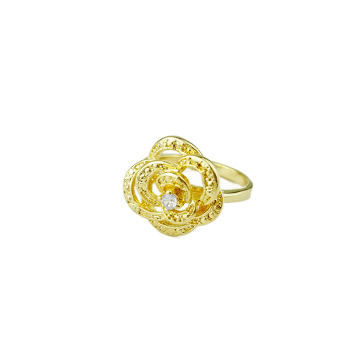 18KGL Flower Ring