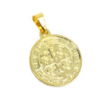 18K Gold Layer Saint Benedict Medal