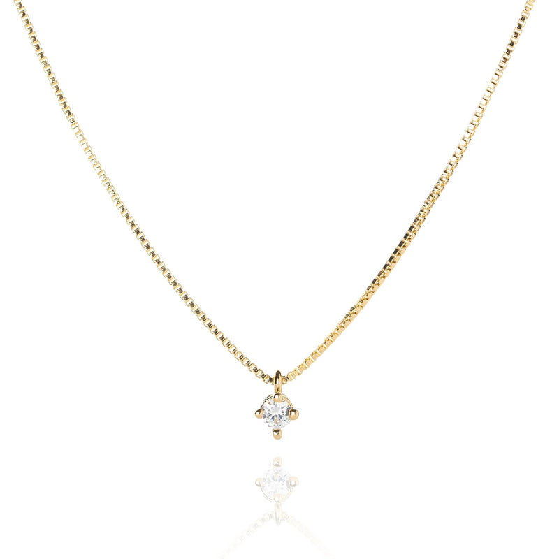 18k GL Chelsea Necklace - Donna Italiana ®