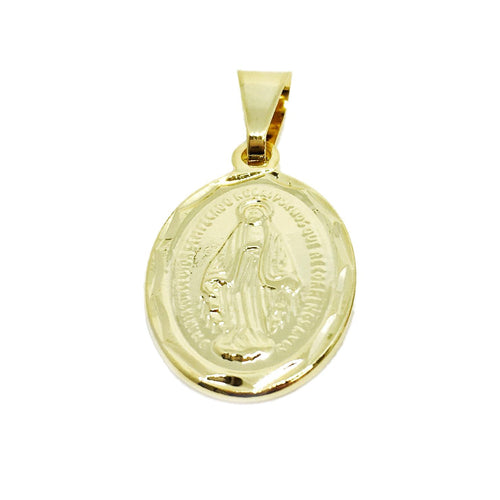 18k GL Double sided Lady G. Medal - Donna Italiana ®