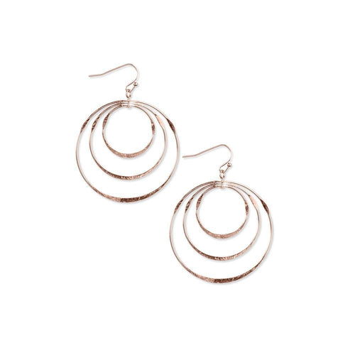 18k GL Gypsy Rose Gold Earrings - Donna Italiana ®