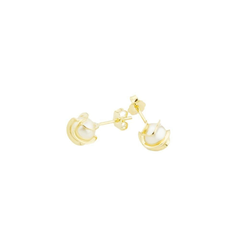 18K GL PEARL EARRINGS - Donna Italiana ®