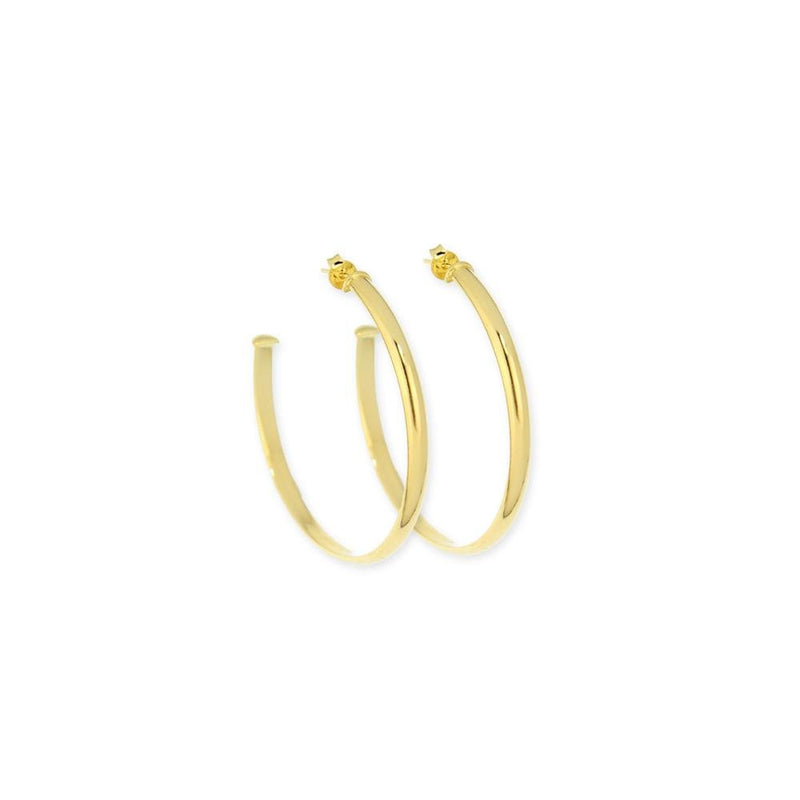 18k GL Snap post Hoop 50mm - Donna Italiana ®
