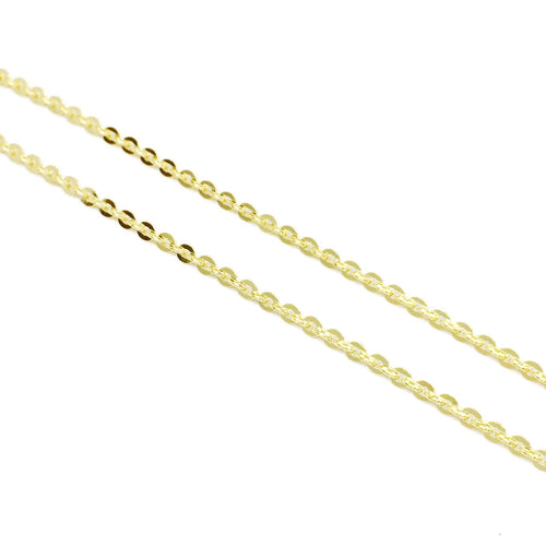 18k Gl Wide Link Chain - Donna Italiana ®