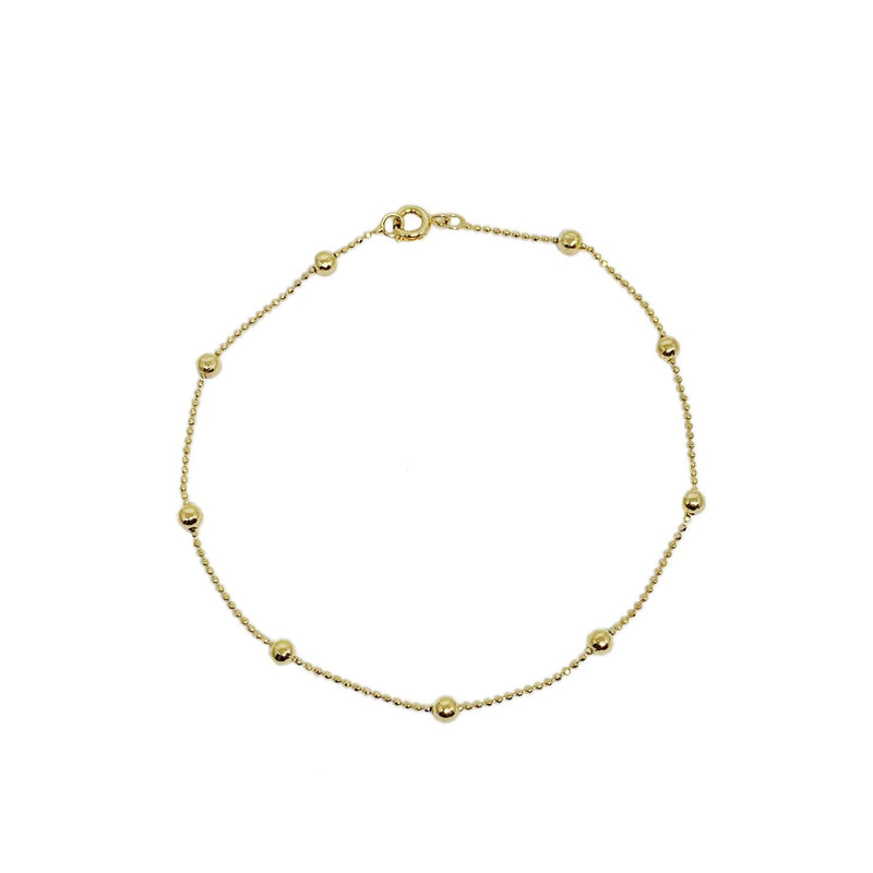 18K Gold Layer Evie Anklet - Donna Italiana ®