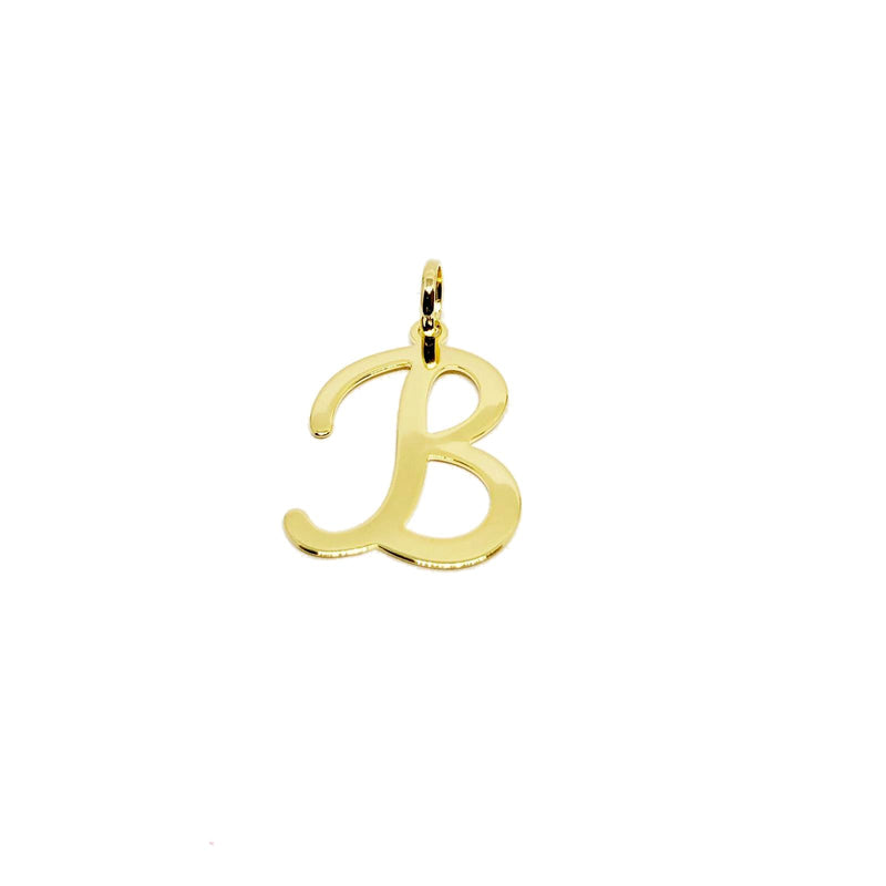 18K Gold Layer Initial Charm - Donna Italiana ®