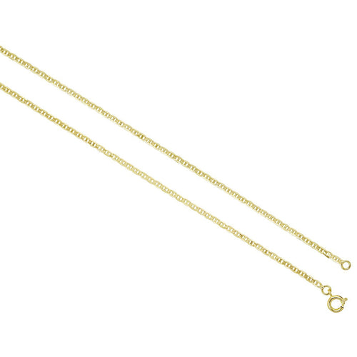 18K Gold Overlay Gutto Chain - Donna Italiana ®