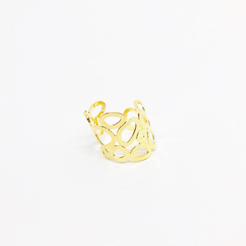 18KGL BUBBLE MAJOR RING - Donna Italiana ®