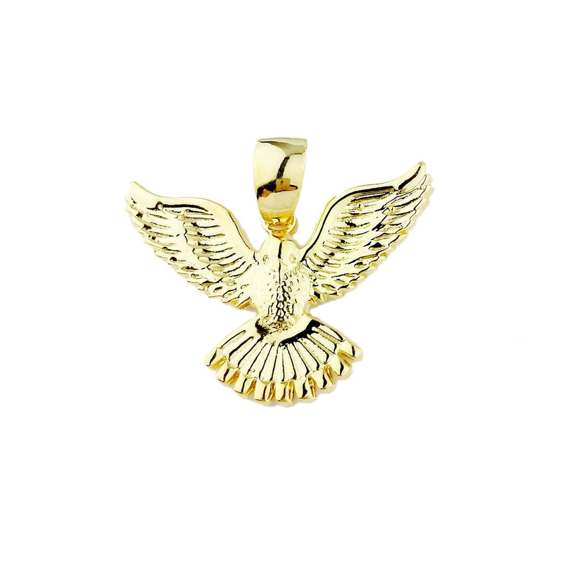 18KGL LARGE DOVE PENDANT - Donna Italiana ®
