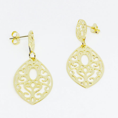 18KGL Spicy earrings - Donna Italiana ®