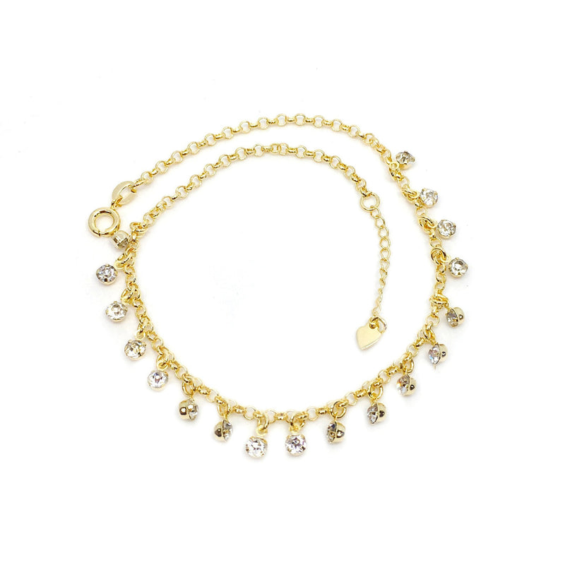 Charming Crystals Anklet - Donna Italiana ®